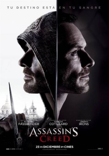 Cartel de la pelicula Assassin's Creed