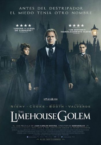 Cartel de la pelicula The Limehouse Golem