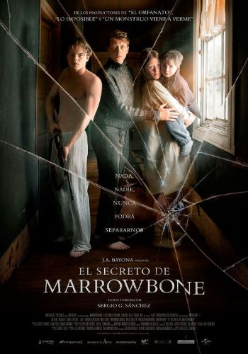 Cartel de la pelicula El secreto de Marrowbone